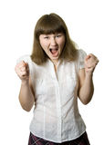 femme pleurant photo libre de droits