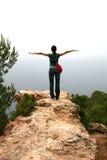 Femme prête à voler Photos libres de droits