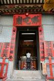 Femme priant au temple Na-tcha Images stock