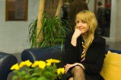 Femme professionnelle de sourire photo stock