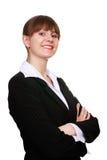 Femme réussie d'affaires Image libre de droits