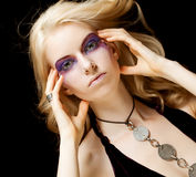 Femme Redhaired Photographie stock libre de droits