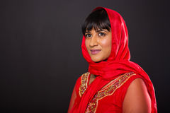 Femme regardant loin Photos libres de droits