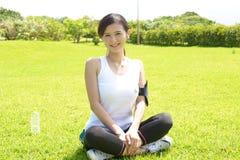 Femme Relaxed Photo libre de droits