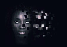 Femme robotique Photos libres de droits