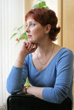 Femme russe image libre de droits