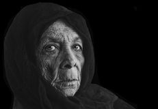 Femme russe de Peasent Image stock