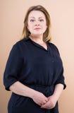 Femme sûre mûre Photo libre de droits