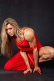 Femme sauvage Photographie stock