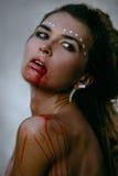 Femme sauvage Photographie stock libre de droits