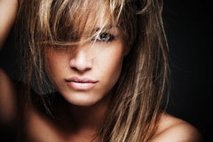 Femme sauvage mystique Images stock