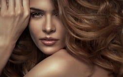 Femme sensuelle Image stock