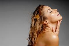 Femme sexy de latino image stock