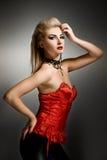 Femme sexy de vamp Images stock
