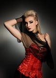 Femme sexy de vamp Photo libre de droits