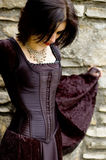 Femme sexy de vampire photographie stock