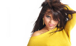 femme sexy de verticale de charme image stock