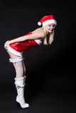 Femme sexy Santa Claus Image stock