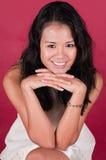 Femme singapourien Images stock