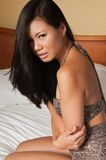 Femme singapourien Photo stock