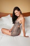 Femme singapourien Image stock