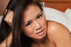 Femme singapourien Photo libre de droits