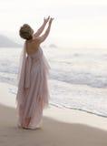 Femme spirituel photo stock