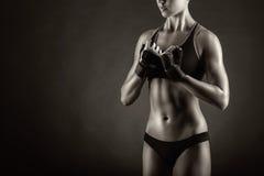 Femme sportif Images stock