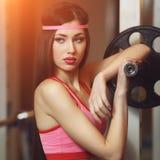 Femme sportif Photo libre de droits