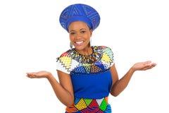 Femme sud-africain images stock
