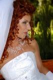Femme sur le banc 8 Image stock
