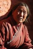Femme tibétain photos libres de droits