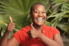 Femme très heureuse image libre de droits