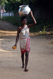 Femme tribal Photos stock
