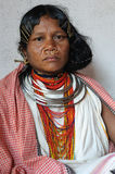Femme tribal de l'Inde Images libres de droits