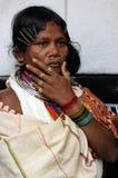 Femme tribal de l'Inde Photographie stock libre de droits