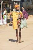 Femme tribale de Bonda Image stock