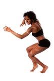 Femme tribale de guerrier Image stock