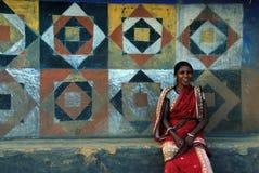 Femme tribale en Inde Photo stock