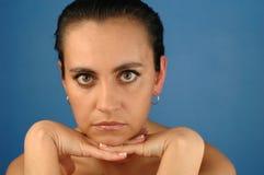 Femme - verticale - 3 Images libres de droits