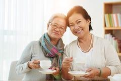 Femmes âgées de sourire Images libres de droits