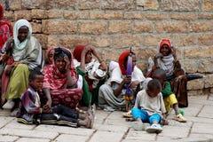 Femmes éthiopiens dans Mekele Photographie stock libre de droits