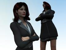 Femmes 2 d'affaires Photos stock