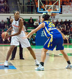 Femmes 2009-2010 d'EuroLeague. Images stock