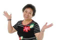femmes aînées asiatiques Photographie stock libre de droits