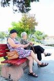 Femmes aînés Images stock