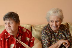 Femmes aînés Photo libre de droits
