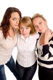 Femmes appréciant une amitié proche Photographie stock