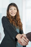 Femmes asiatiques d'affaires Image stock