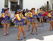Femmes assez boliviennes Photos stock